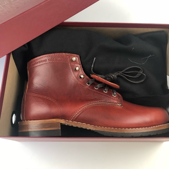 637ce3f15a8 Wolverine 1000 Mile •NWT• Evans Boot size 9.5